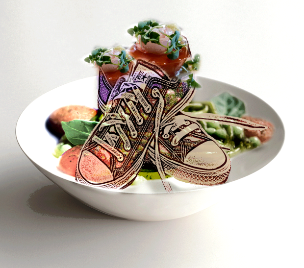 'Edible Shoe' Concept image by Eleanor Gates-Stuar